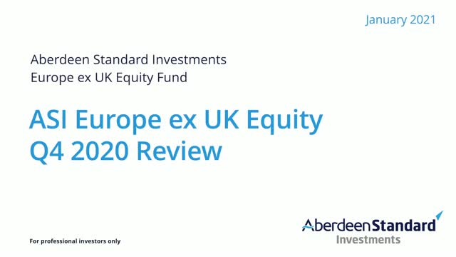 ASI Europe ex UK Equity Fund quarterly round up video
