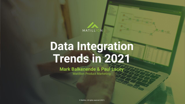 Data Integration Trends to Watch in 2021