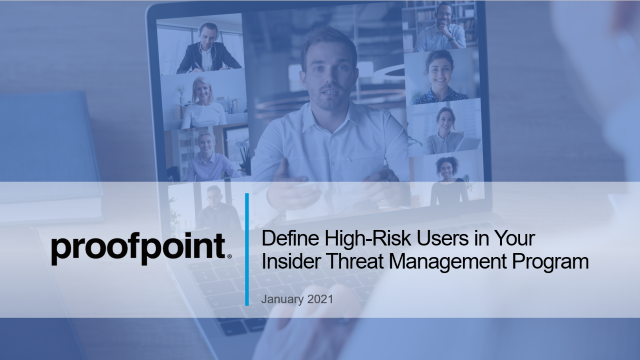 Define High-Risk Users in Your Insider Threat Management Program
