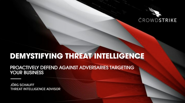 DEMYSTIFYING THREAT INTELIGENCE