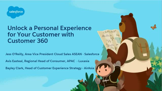 Unlock a Personal Experience for Your Customer with Customer 360