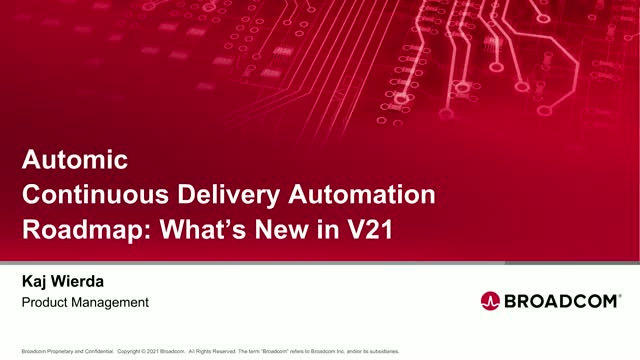 Continuous Delivery Automation Roadmap