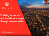 Enabling Secure and Real Time Data Exchange Through Interconnection