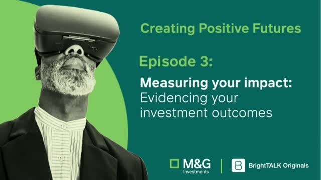 Measuring Your Impact: Evidencing Your Investment Outcomes