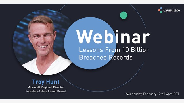 Troy Hunt - Lessons From 10 Billion Breached Records