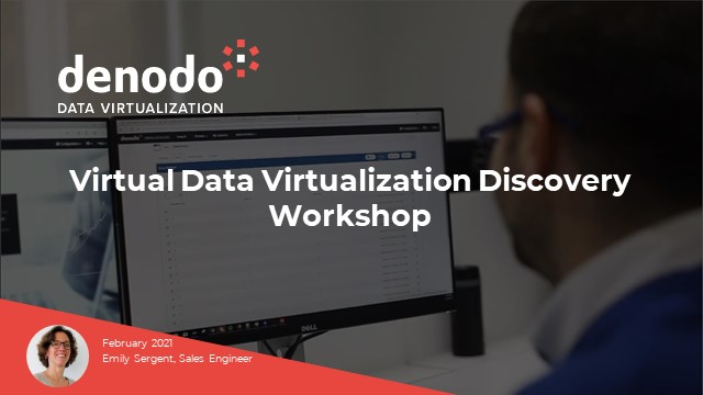Belgium & Luxembourg dedicated online Data Virtualization discovery workshop