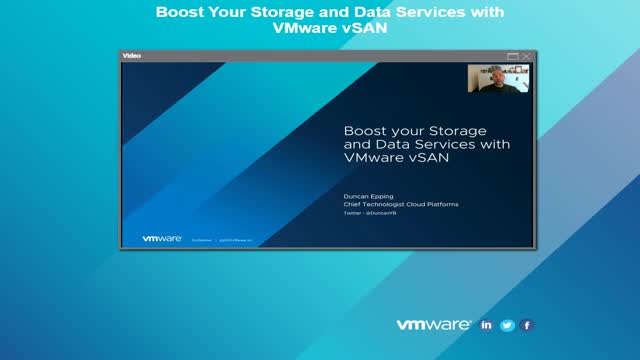 Boost Your Storage and Data Services with VMware vSAN