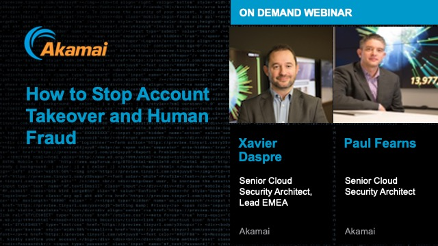 How to Stop Account Takeover and Human Fraud