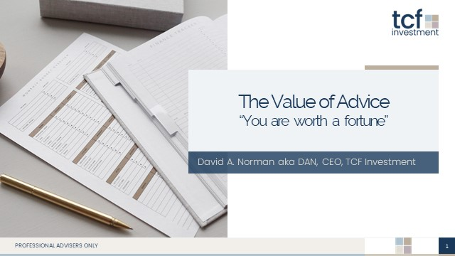 How to show the value of financial advice  - it's worth a fortune!