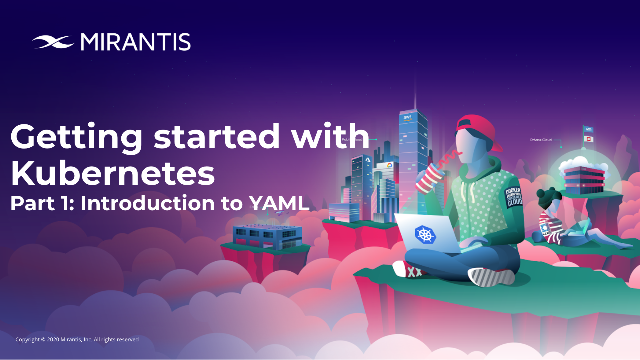 Getting started with Kubernetes, Part 1: Introduction to YAML