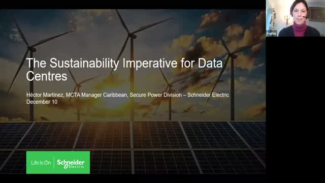 Case Study Presentation: The Sustainability Imperative for Data Centres