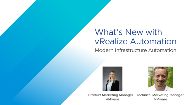 vRealize Automation: What's New?