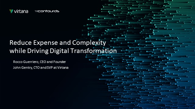 Reduce Expense and Complexity while Driving Digital Transformation Innovation