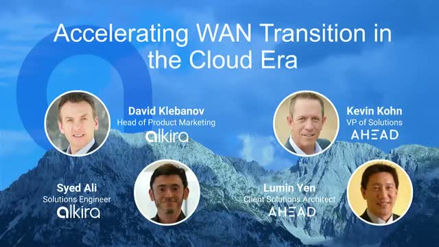 Accelerating WAN Transition in the Cloud Era