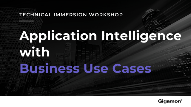 Application Intelligence Technical Immersion Workshop with Business Use Cases