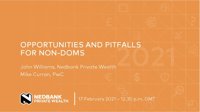 Opportunities and pitfalls for non-doms