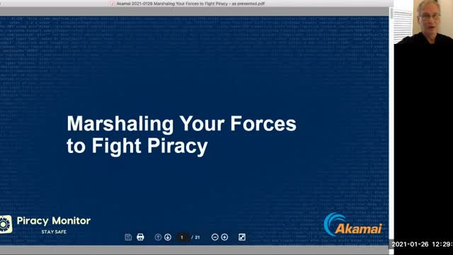 Marshaling Your Forces to Fight Piracy
