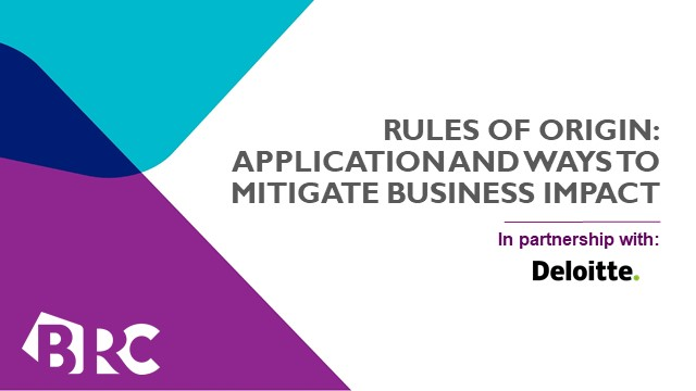 Rules of Origin: Application and Ways to Mitigate Business Impact
