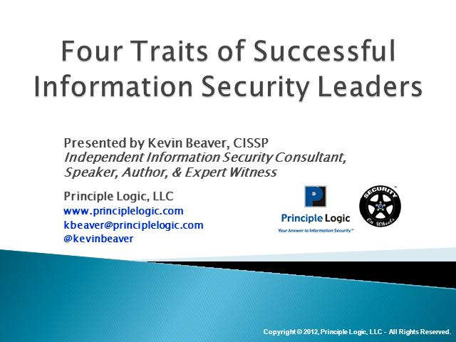 Four traits of successful information security leaders