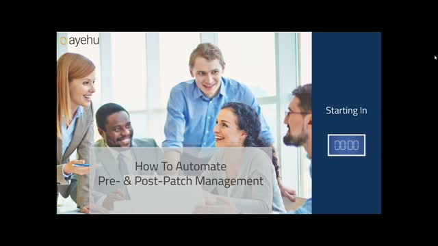 On Demand Webinar - How To Automate Pre- & Post-Patch Management