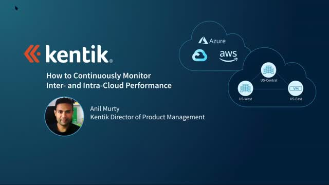 How to Continuously Monitor Inter- and Intra-Cloud Performance