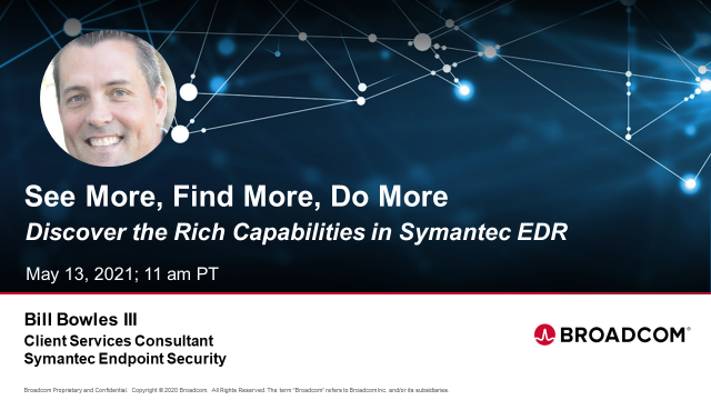 Endpoint Security: See More, Find More, Do More