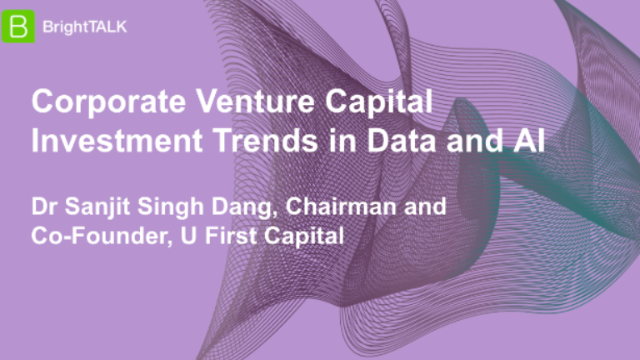 Corporate Venture Capital Investment Trends in Data and AI