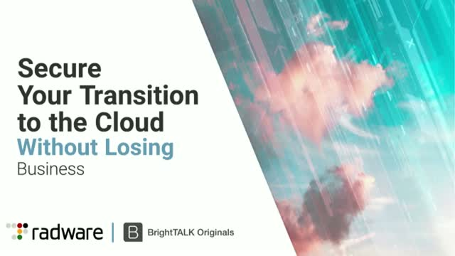Secure Your Transition to the Cloud Without Losing Business