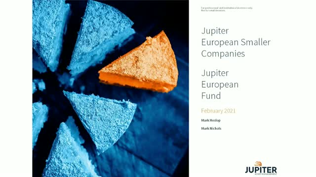 Jupiter European Fund webcast: In Europe - are you going where the growth is?