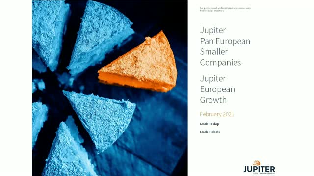 Jupiter European Growth webcast: In Europe - are you going where the growth is?