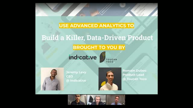 Using Advanced Analytics to Build a Killer, Data-Driven Product