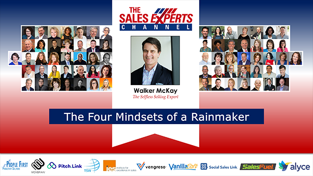 The Four Mindsets of a Rainmaker
