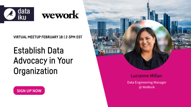 Establish Data Advocacy in Your Organization with WeWork