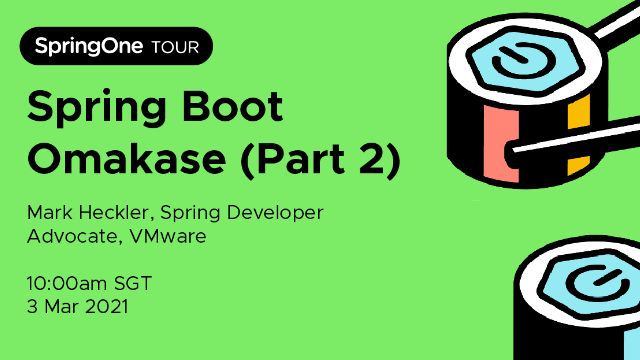 Spring Boot Omakase (Part 2)