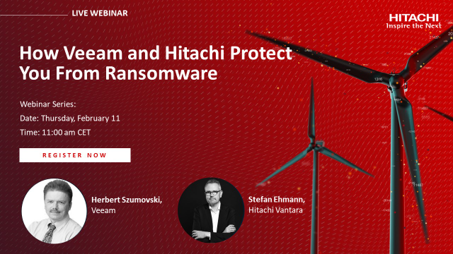 How Veeam and Hitachi Protect You From Ransomware