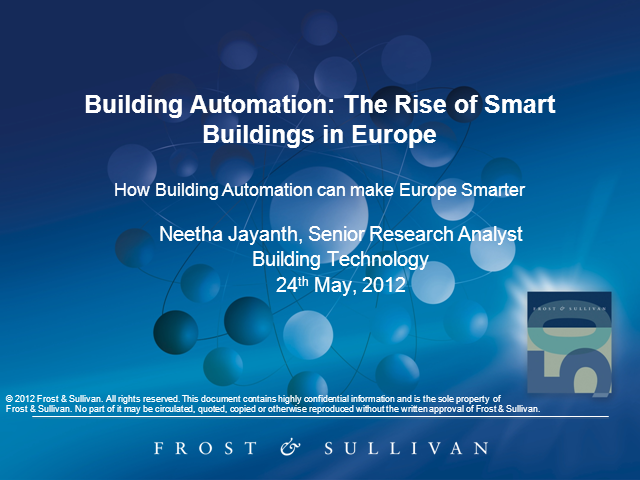 Building Automation: The Rise of Smart Buildings in Europe