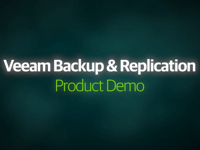 DEMO: VM Backup and Recovery