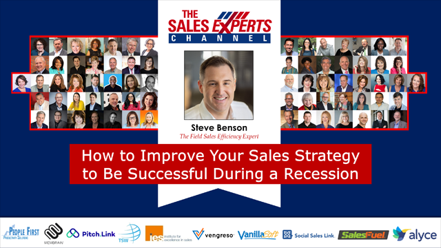 How to Improve Your Sales Strategy to Be Successful During a Recession