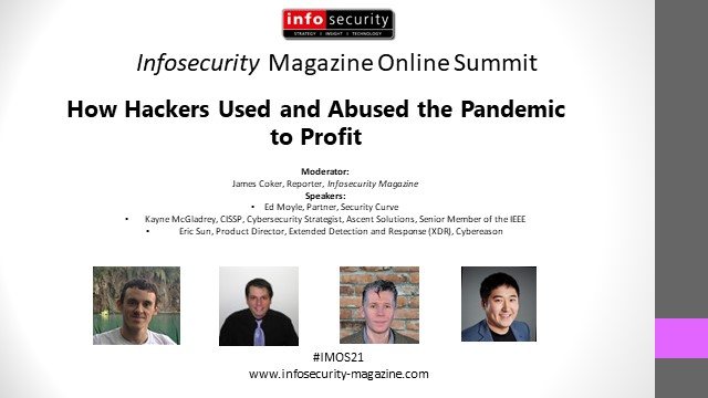 #IMOS21 How Hackers Used and Abused the Pandemic to Profit