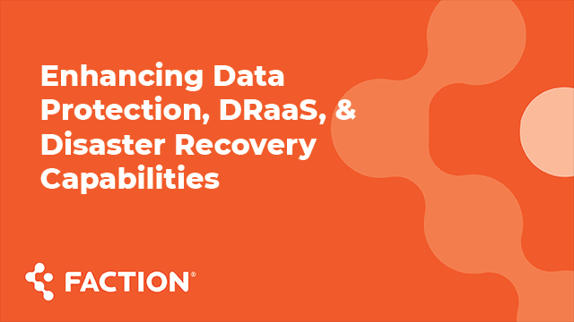MegaCast - Enhancing Data Protection, DRaaS, & Disaster Recovery Capabilities