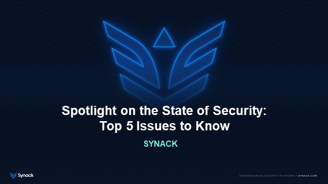 #IMOS21 Sponsor Keynote-Spotlight on the State of Security: Top 5 Issues to Know