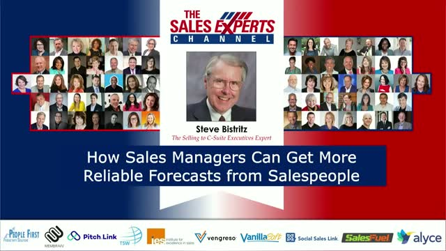 How Sales Managers Can Get More Reliable Forecasts from Salespeople