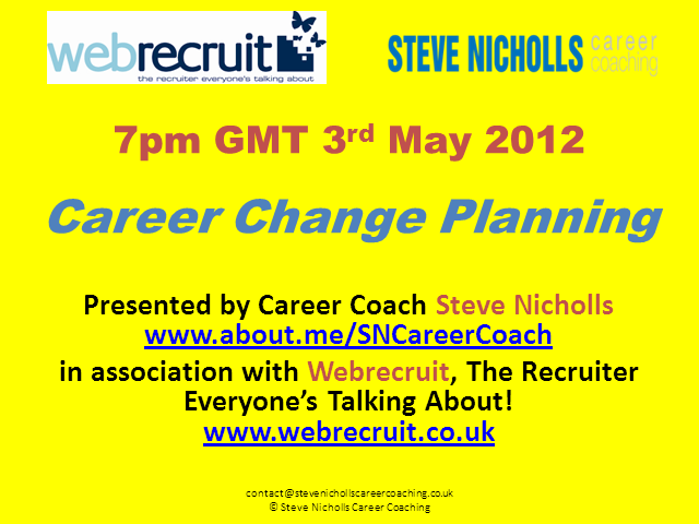 Career Change Planning