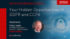 Your Hidden Opportunities in GDPR and CCPA