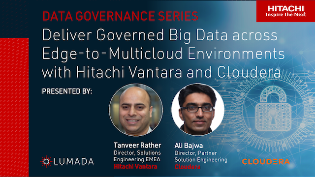 Deliver Governed Big Data across Edge-to-Multicloud Environments