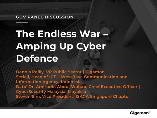 Webinar: The Endless War – Amping Up Cyber Defence