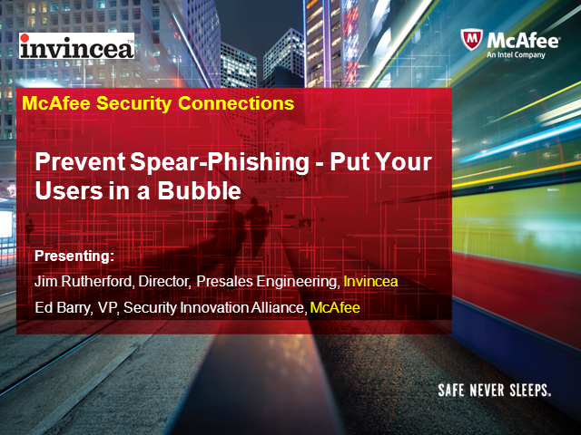 Prevent Spear-Phishing - Put Your Users in a Bubble