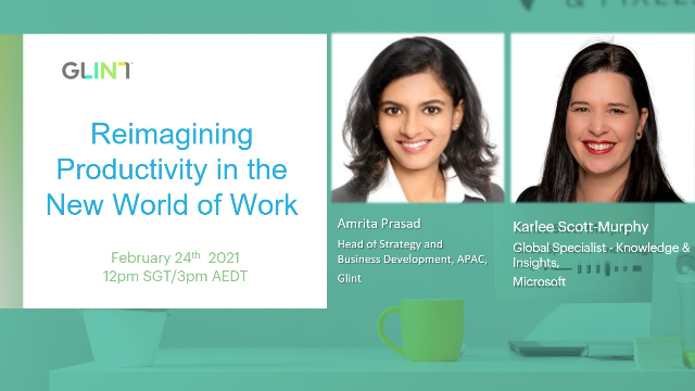 [APAC] Reimagine Productivity in the New World of Work