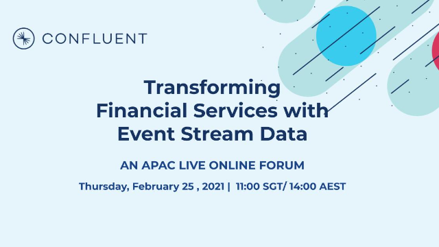 Transforming Financial Services with Event Stream Data