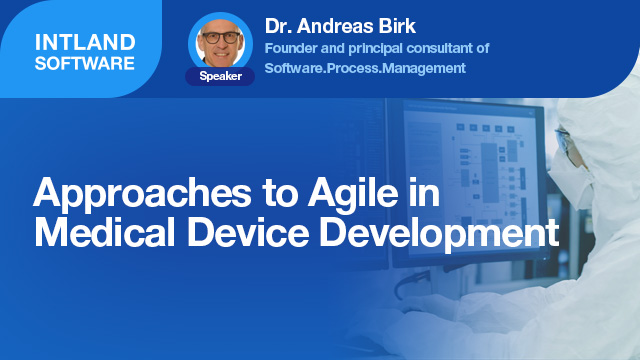 Approaches to Agile in Medical Device Development